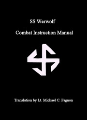 SS Wehrwolf Guerrilla Warfare Manual : SS : Free Download, Borrow, and  Streaming : Internet Archive