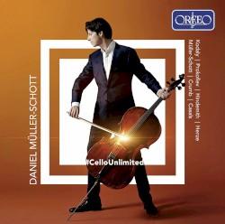 #CelloUnlimited by Kodály ,   Prokofiev ,   Hindemith ,   Henze ,   Müller‐Schott ,   Crumb ,   Casals ;   Daniel Müller‐Schott